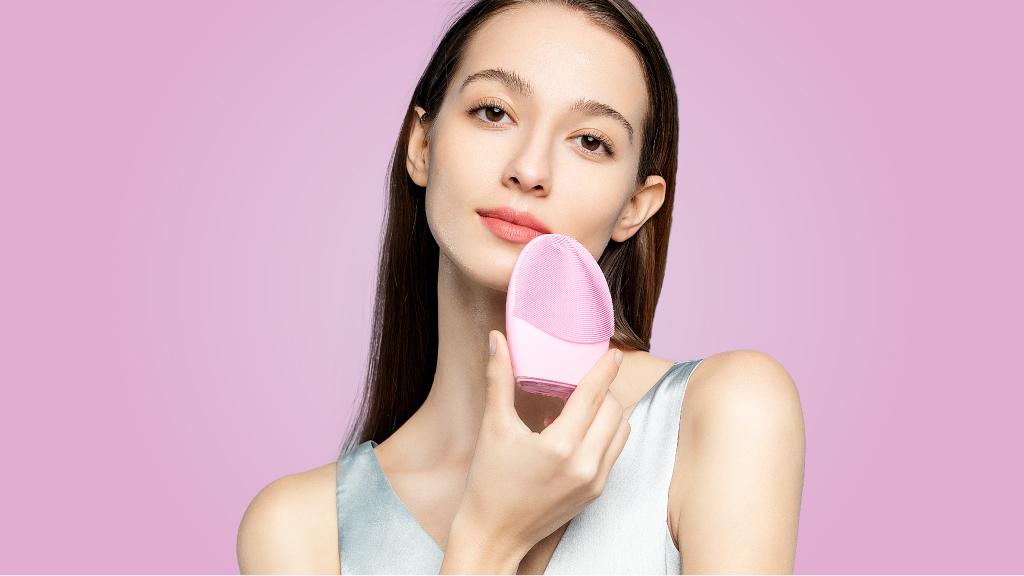 Le silicone pour se nettoyer le visage