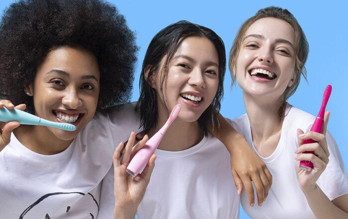 La nouvelle brosse à dents sonique de FOREO
