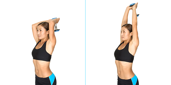 3 Easy Tricep Exercises You Can Do At Home To Say Goodbye To Batwings
