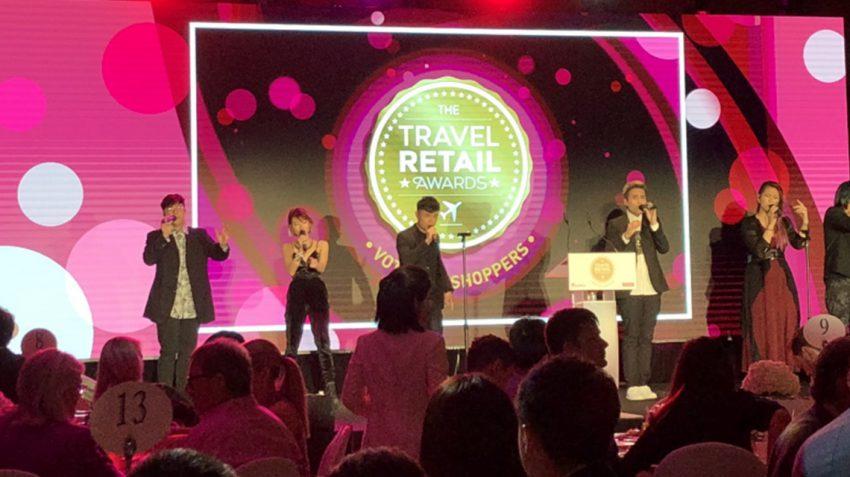 Travel Retail Awards ceremony