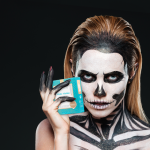 This UFO Activated Mask is the Key to Scary-Good Halloween Makeup