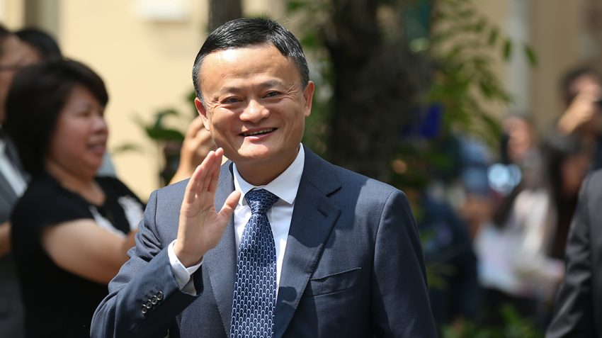 Jack Ma, co-founder and executive chairman of Alibaba