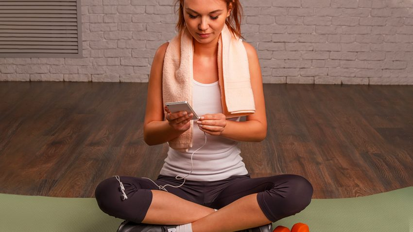 Working out during Winter with mobile Apps