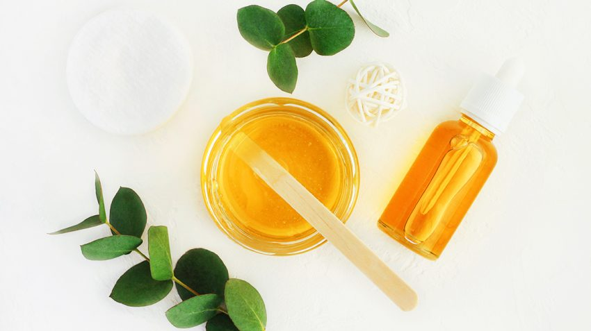honey as home remedies for glowin winter skin