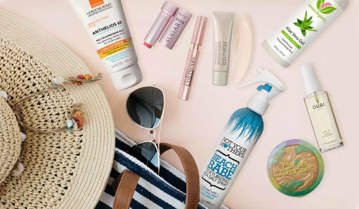 Skincare products for the summer