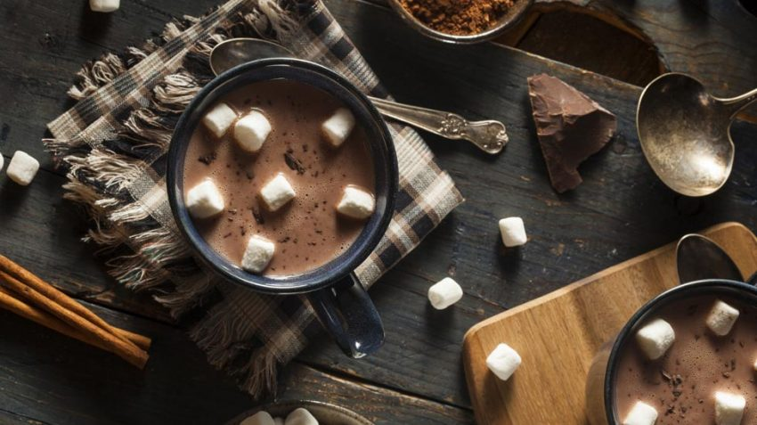Hot chocolate and cocoa