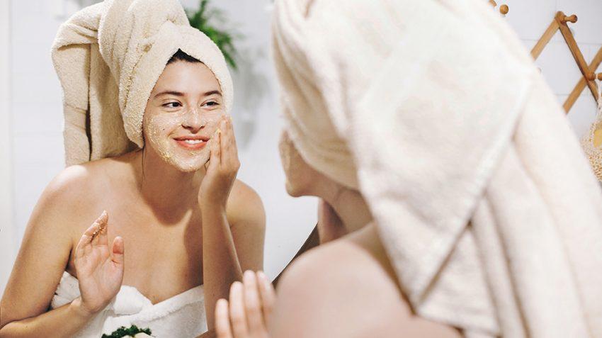 DIY face masks autumn ingredients
